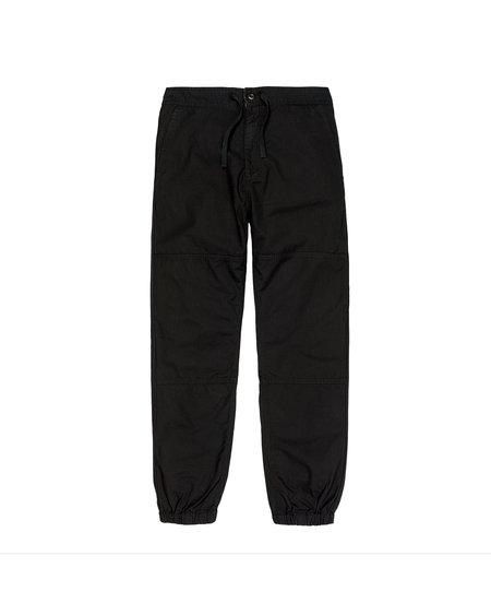CARHARTT WIP Pantalón Jogger Marshal - Black Rinsed