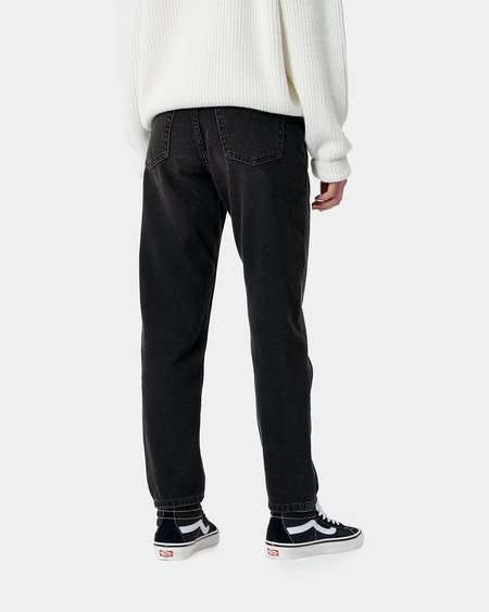 Carhartt WIP W W' Page Carrot Ankle Pant - Arcata Black 90s