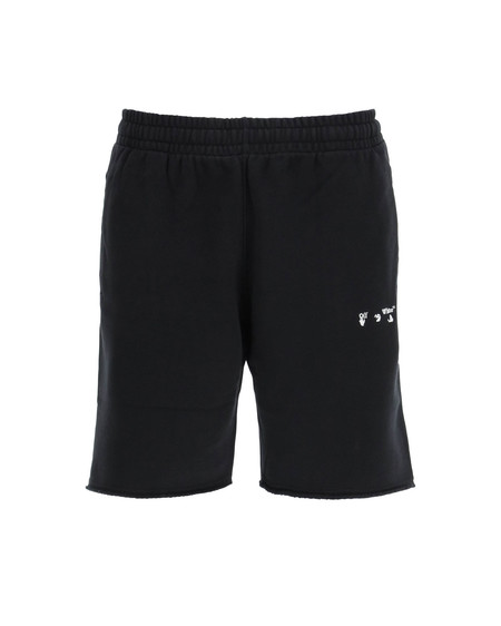Off-White Big OW Logo Embroidery Shorts
