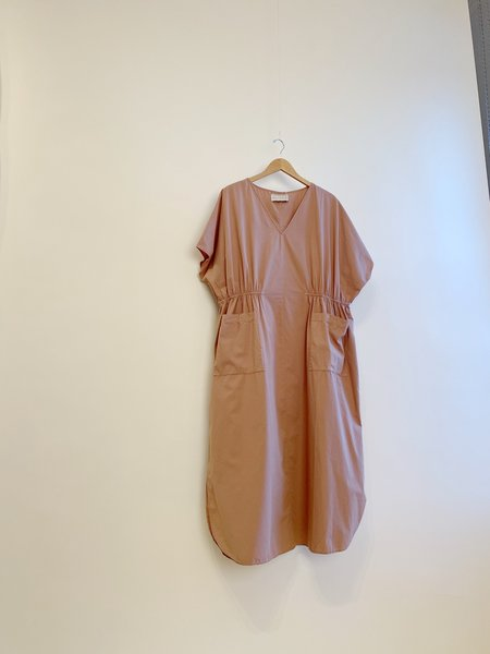 Mónica Cordera Maxi Cotton Dress - Cork