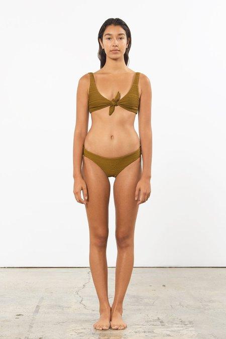 Mara Hoffman Zoa Bikini Bottom - Olive
