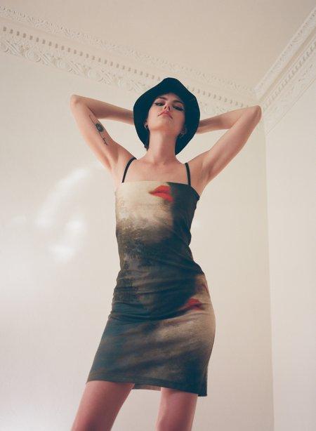 Elliss Blush Mini Dress - Forest