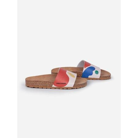 kids bobo choses landscape sandals - multicolored