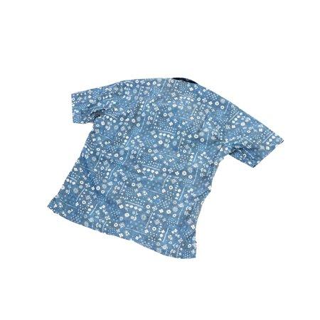 Gitman Vintage Bandana Camp Shirt - Blue Indigo