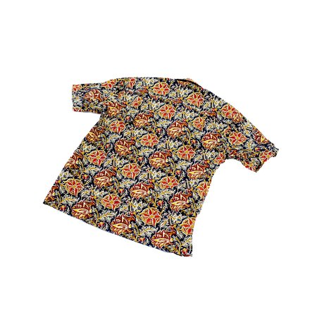 Gitman Vintage Camp Shirt - Floral Block Print