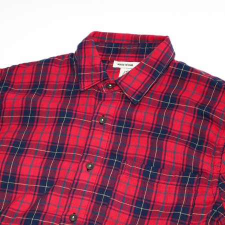 KATO The Ripper Shirt - Red Plaid