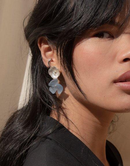 Cled Periwinkle Single Earrings