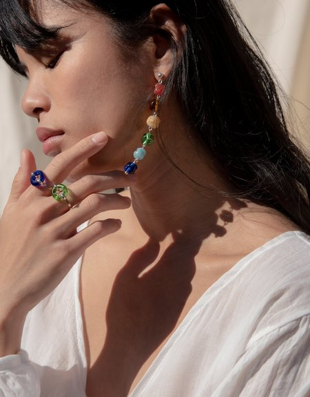 Cled Rainbow Earrings - Rainbow