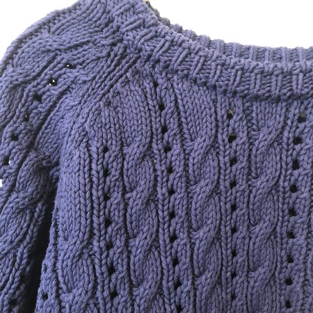 Pre-loved Babaa Sweater - blue