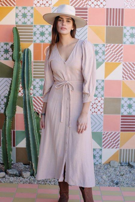 Rachel Pally Linen Agnes Dress - Sand