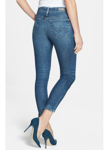 AG Jeans Farrah Skinny Crop denim - 12Y