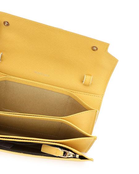 Marni Crossbody Mini Wallet Bag - Yellow