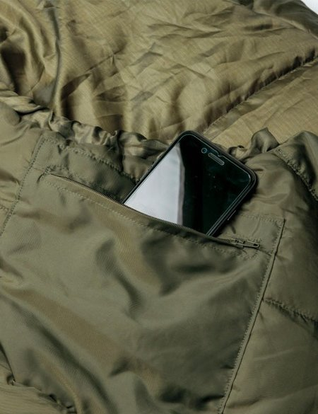 Snow Peak Military Sleeping Bag - Olive Drab