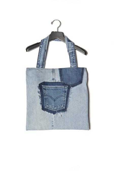 Noorism Vintage Jean Tote Bag