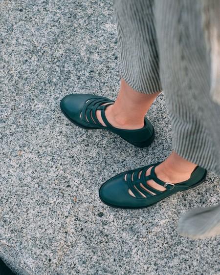 Naguisa Bielsa Shoes - Green