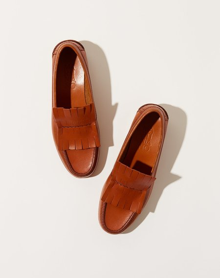 Martiniano Duccio loafer - Saddle