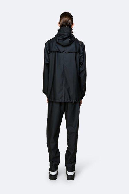 Rains Storm Breaker Zip Hooded Jacket  - Black