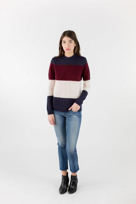 Just Female Glaze Knit - Red Stripe
