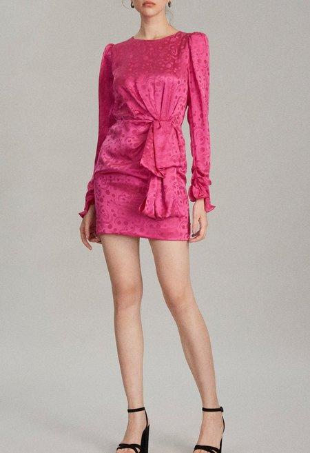 Saloni Debbie Dress - Pink