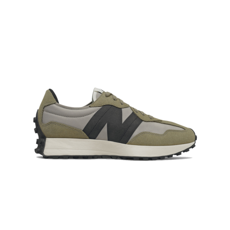 New Balance 327 Sneakers - Aluminum/Cover Green