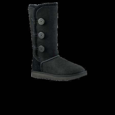 Ugg Women Bailey Button Triplet II 1016227-BLK boots - Black