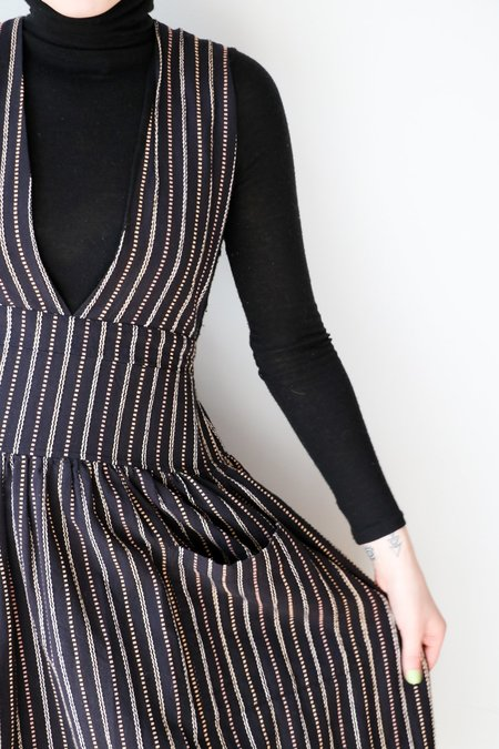[Pre-loved] Ace & Jig The Ellen Dress - Black/Cream