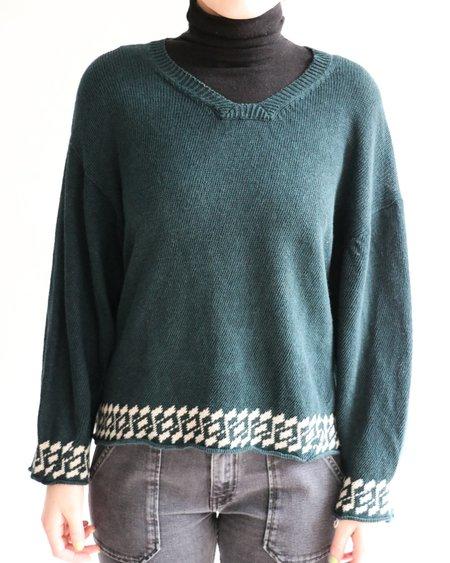 [Pre-loved] Comme des Garçons Linen Sweater