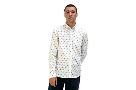 Far Afield Cognito Shirt - White Whale