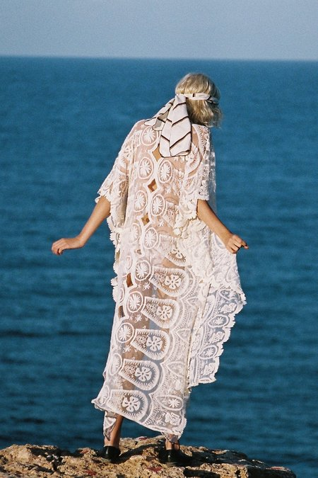 Jen's Pirate Booty Pixie Mykonos Kaftan dress - Natural