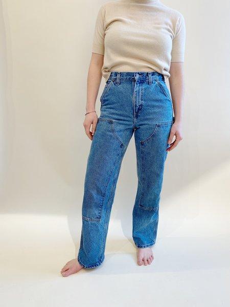 Vintage Carhartt Double-Knee Jeans - Blue