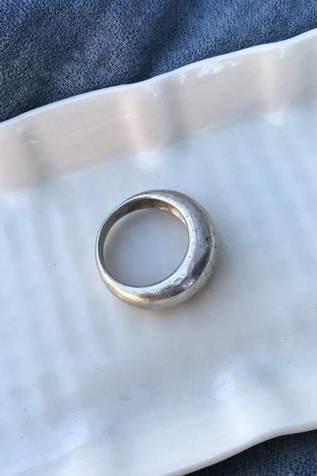 Vintage Midcentury Scandinavian Domed Ring