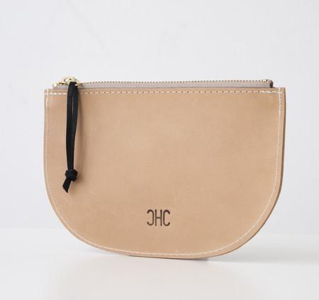 CHC Slim Zip Pouch - English Tan