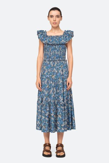 Sea NY Lissa Ruffle Dress