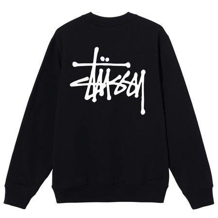 Stussy Basic Crew - Black