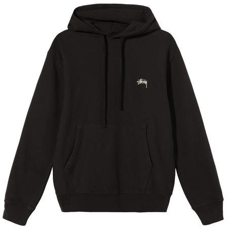 Stussy Stock Logo Hoody - Black