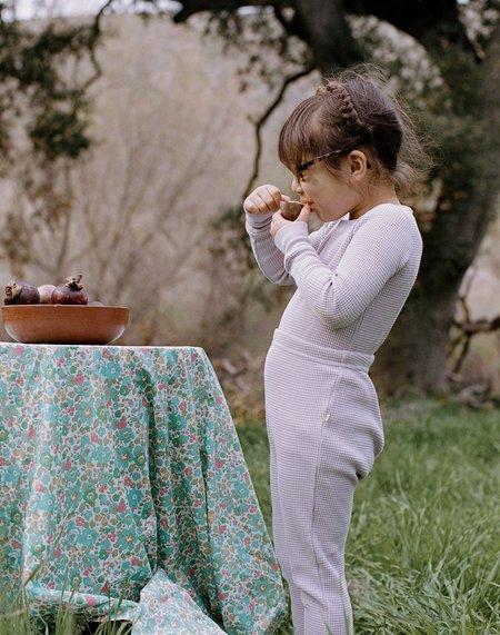 Kids Noble Organic Waffle Set - Lavender