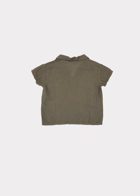 Kids Caramel Albacore Shirt - Dark Olive