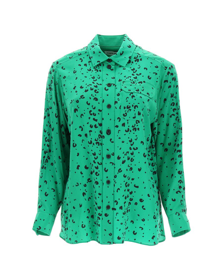 Kenzo Print Silk Shirt