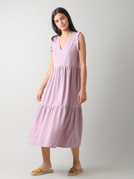 Indi & Cold Clara Lyocell dress - Lila