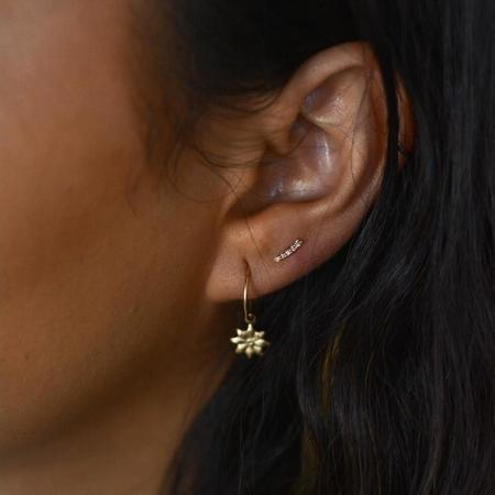 JoeLuc Lyra Pavé Diamond Earring