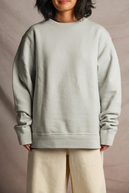 Lady White Co. '44 Fleece Sweater - Stone Grey