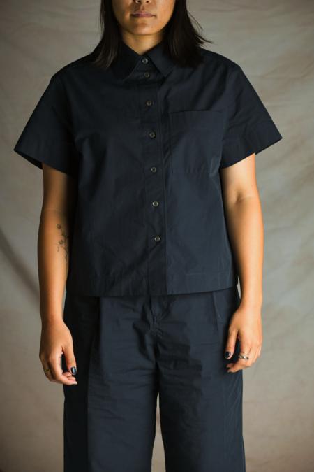 Studio Nicholson Capuchin Shirt - Dark Navy