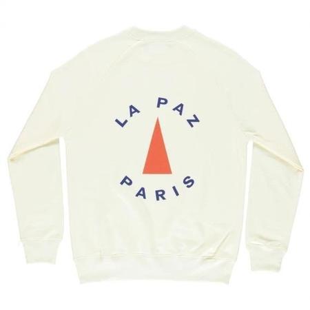 La Paz CUNHA LA PAZ PARIS SWEATSHIRT - white