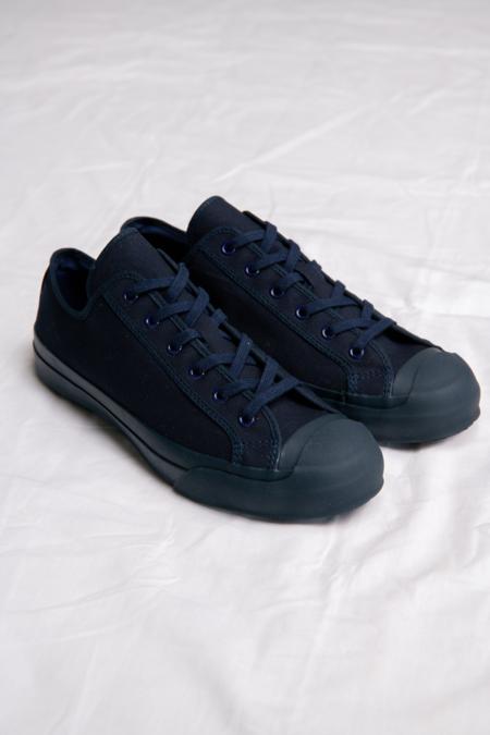 Studio Nicholson Merino Vulcanised Sole Canvas Shoe - Navy
