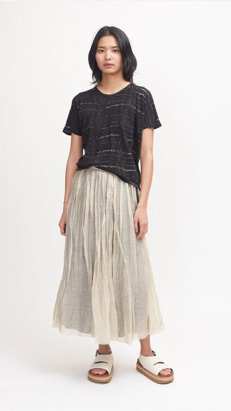 Pas de Calais Cotton Short Sleeve Pullover - Black
