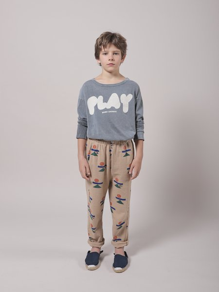 kids Bobo Choses Balance Fleece Pant - Brush