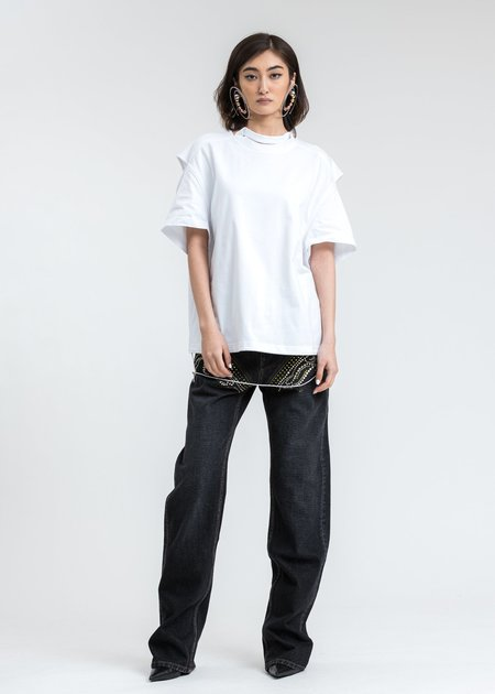 Y/project Convertible T-Shirt - White
