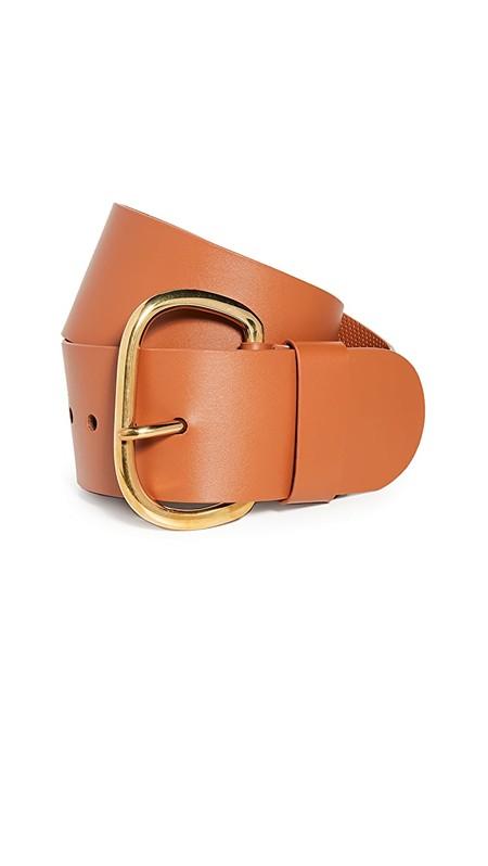 Rachel Comey Wide Estate Belt - Tawny Orange