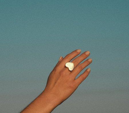 Luiny LOLA'S HEART RING - brass