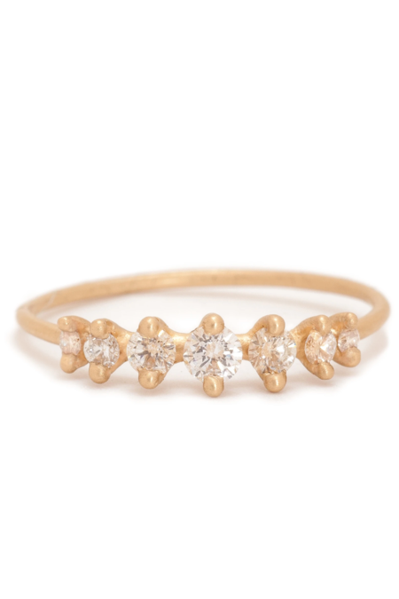 Valley Rose Meissa Ring - Ground Diamonds